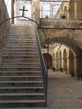Courtyard in Bethlehem Royalty Free Stock Photos