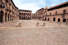 The courtyard bishops Castle Siguenza. Castillo de los Obispos d Royalty Free Stock Images