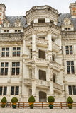 Courtyard of Blois Chateau, France Stock Image