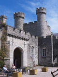 Courtyard in Bodelwyddan Castle North Wales Stock Photos