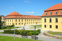 Courtyard of Bratislava Castle Royalty Free Stock Photo