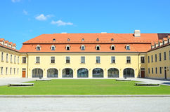 Courtyard of Bratislava Castle Stock Photography