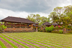 Courtyard of a Buddhist temple Stock Image