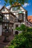 Courtyard buildings, the Wartburg castle Stock Photo