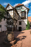 Courtyard buildings, the Wartburg castle Royalty Free Stock Photos
