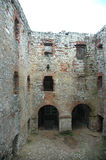Courtyard of castle Royalty Free Stock Photography