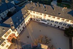 Courtyard of the castle in Bad Homburg, original location for th Stock Images