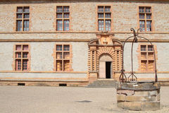 Courtyard of Castle Royalty Free Stock Photos