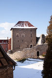 Courtyard castle Kapellendorf Stock Photos