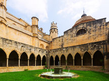Courtyard of Cathedral de  Tortosa Stock Photo