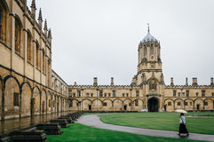 Courtyard in Christ Church College Royalty Free Stock Photography