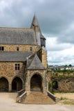 Courtyard Château de Vitré, Vitre, France Royalty Free Stock Photos