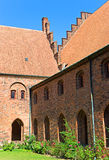 Courtyard from Church. In Helsingor Royalty Free Stock Photography