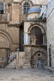 Courtyard, Church of the Holy Sepulchre Stock Image