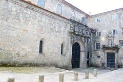 Courtyard of church of Santa Clara in Porto, Portugal Stock Photography
