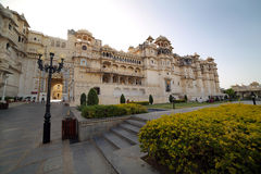 Courtyard at City Palace, Udaipur Royalty Free Stock Photography