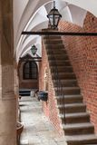 Courtyard of Jagiellonian University in Krakow. Courtyard of Collegium Maius, Jagiellonian University in Krakow, Poland. The oldest building of the oldest Stock Images
