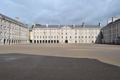 Courtyard of collins barracks Stock Photography