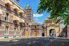 The courtyard complex of buildings in the center of The Hague, w Stock Images
