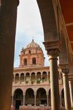 Courtyard of Convent of Santo Domingo in Koricancha complex, Cus Stock Image