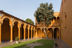 Courtyard of the Convento Santo Domingo in Lima Stock Images