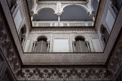 Courtyard of the Dolls in Alcazar of Seville Royalty Free Stock Image