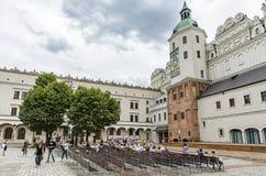 Free Courtyard Ducal Castle Szczecin Poland Royalty Free Stock Photo - 194209245