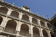 Courtyard facade of historic University Stock Images