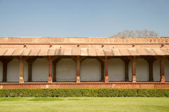 Courtyard at Fatehpur Sikri Royalty Free Stock Photos