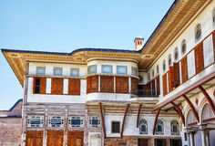 The Courtyard of the Favorites in the Harem, Istanbul Royalty Free Stock Photo