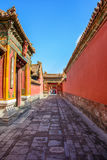 Courtyard of the Forbidden City in Beijing Royalty Free Stock Image