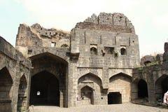 Courtyard of Fort Paranda Stock Photo