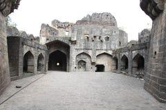 Courtyard of Fort Paranda Stock Images