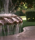 Courtyard fountain Royalty Free Stock Photography