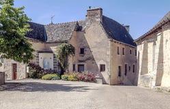 Courtyard in France Stock Photos