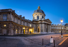 Courtyard of the French Institute at dawn, Paris, France Stock Photography