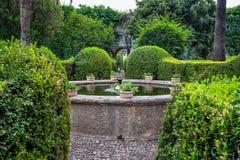 Free Courtyard Garden Of Viana Palace In Cordoba, Andalusia, Spain Stock Photo - 166322130