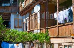 Courtyard, Georgian Republic Stock Photo