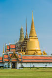 Courtyard grand palace Wat Phra Kaew Bangkok Royalty Free Stock Photos