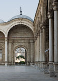 The courtyard of the great Mosque of Muhammad Ali Pasha, Cairo Royalty Free Stock Photography