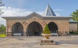 Courtyard of Haji Bektash Veli Tomb Royalty Free Stock Image