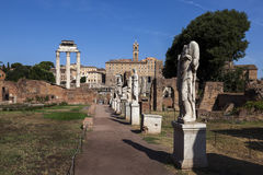 Courtyard of the House of the Vestal Virgins Royalty Free Stock Photos