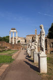Courtyard of the House of the Vestal Virgins Stock Image