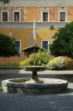 Courtyard In Rome Royalty Free Stock Photo