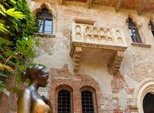 The courtyard of Juliet. Verona. Stock Image