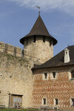 Courtyard of the Khotyn Fortress Royalty Free Stock Photography