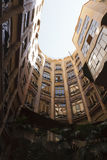 Courtyard of La Pedrera Stock Images