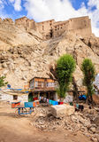 Courtyard in Leh Royalty Free Stock Photography