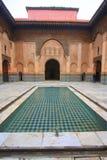 Courtyard of a madrassa Stock Photos
