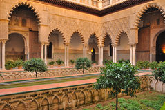 Courtyard of the maidens Royalty Free Stock Photos